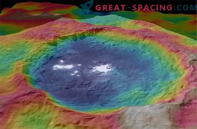 џуџеста планета со гаден мистериозна површина
