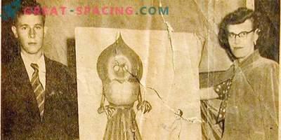 La historia del monstruo de Flatwood. Lo que una criatura fue descrita por los niños en 1952