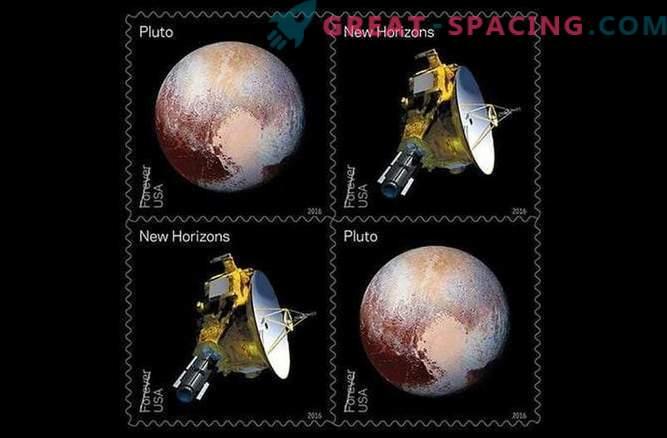 Missioon New Horizons trükitakse märgile.