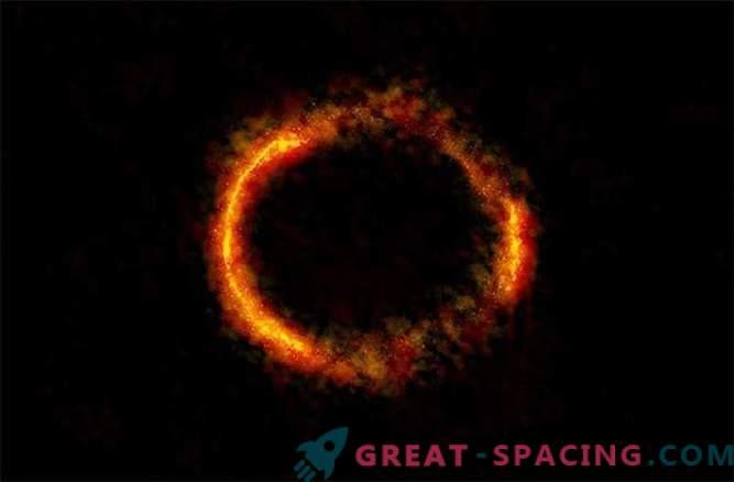 АЛМА го доловува прекрасниот поглед на Ајнштајновиот прстен