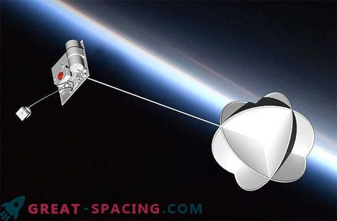 Малиот ThumbSat е дизајниран да ги пополни празнините во просторот