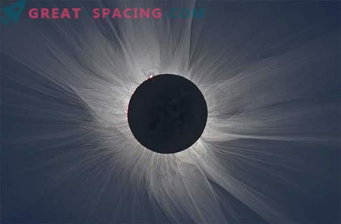 Магнетното поле на сонцето е снимено на сликата