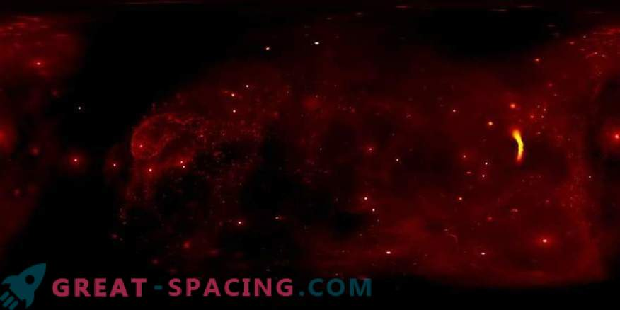 Admire the center of the Milky Way