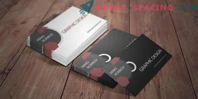 Занаетчиски висококвалитетни бизнис картички
