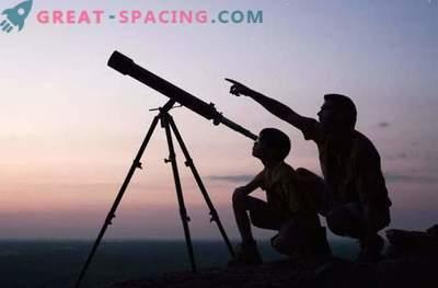 Што може да се види со домашниот телескоп