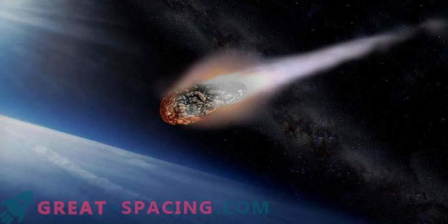 El asteroide se precipitará más allá de la Tierra